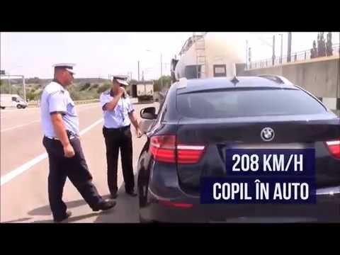 Poliția pe Autostrada Soarelui