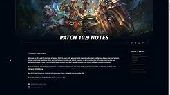 Patch Rundown 10.9 - Return of Rhaast, Demise of Karthus?