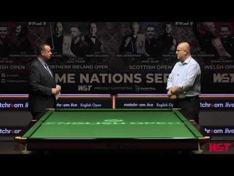 Matchroom.Live English Open Quarter Final Preview!