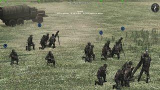ДЕРЗКАЯ КОНТРАТАКА СОВРЕМЕННОЙ АРМИИ РФ ! В Игре Стратегии про Войну В Тылу Врага 2 Cold War