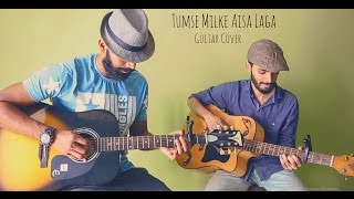 Tumse Milke Aisa Laga Guitar Cover |  Parinda Movie | Ft.Shreyas Sutar  & Abhishek Talla