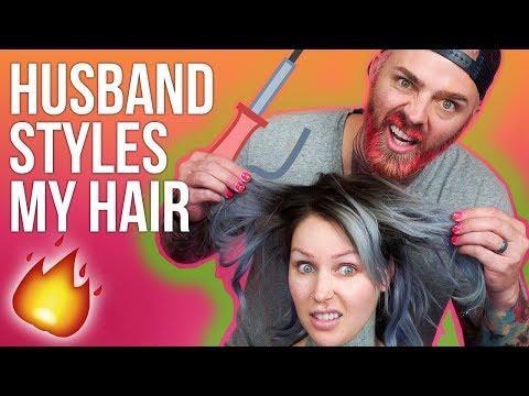 HUSBAND STYLES MY HAIR - FUNNY AF