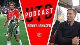 """Vinnie Jones' elbow and THAT David Beckham goal""   Ronny Johnsen   UTD Podcast"
