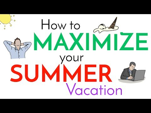 6 Tips for Summer FUN & PRODUCTIVE