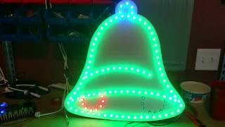 coro bell with xlights state effect