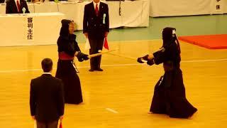 65th All Japan Kendo Championship 16   Round 1, Takeshita vs Hashimoto