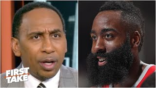 I'm NOT trading James Harden! - Stephen A. thinks the Rockets have an icon | First Take