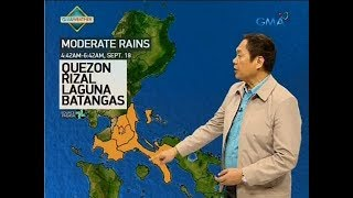 UB: Weather update as of 6:14 a.m. (Sept. 18, 2018)