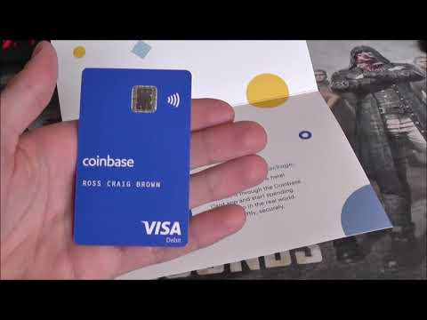 Testing The New Coinbase Crypto Debit Card!