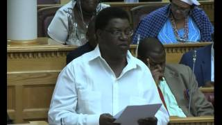 Lands Reform Minister forced to discontinue ministerial statement on Land Reform -NBC
