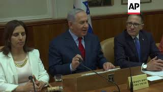 Netanyahu on Iran nuclear programme and Trump talks