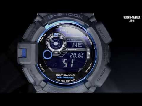 CASIO G-SHOCK 30th Initial Blue MUDMAN GW-9330B-1JR Gショック イニシャルブルー