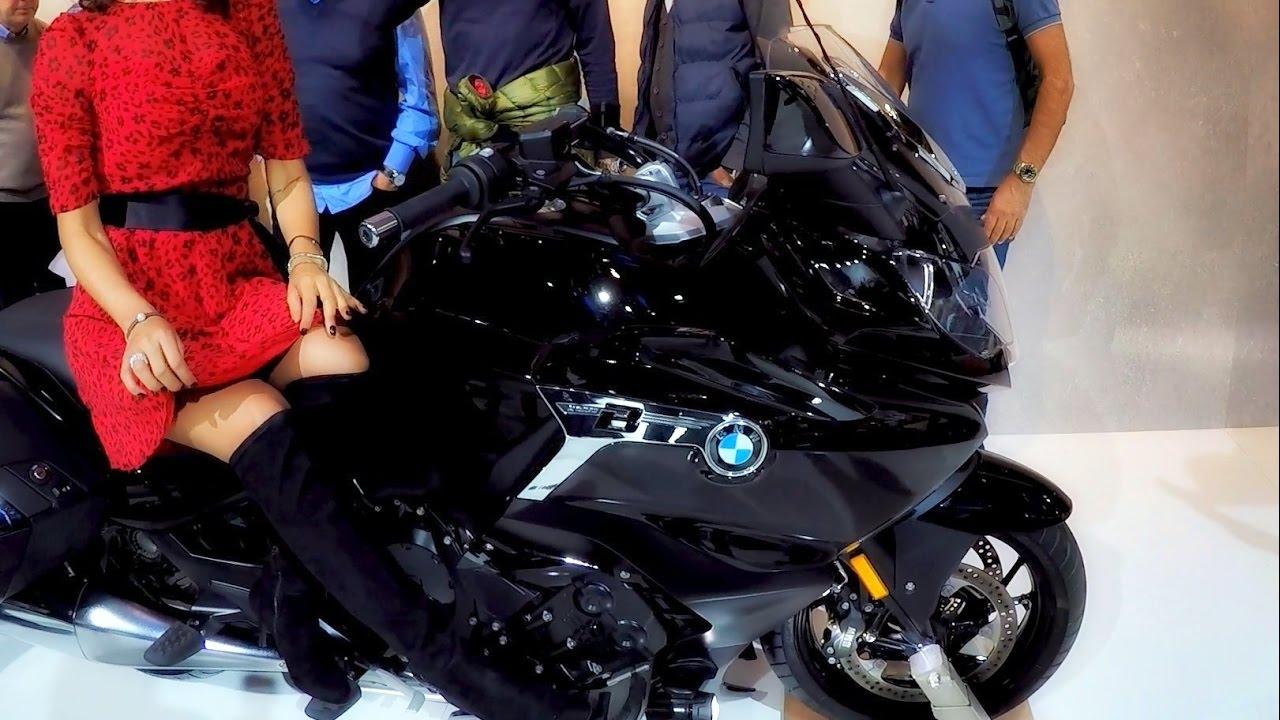2017 BMW K1600 BAGGER!! - EICMA 2016: Walk Around with GoPro Hero5 - YouTube