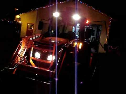 Custom rear Kubota lights  YouTube