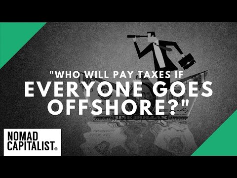 """Who Will Pay Taxes if Everyone Goes Offshore?"""