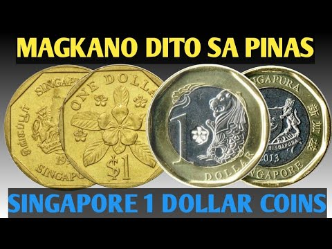 SINGAPORE 1 DOLLAR COINS VALUE DITO SA PINAS