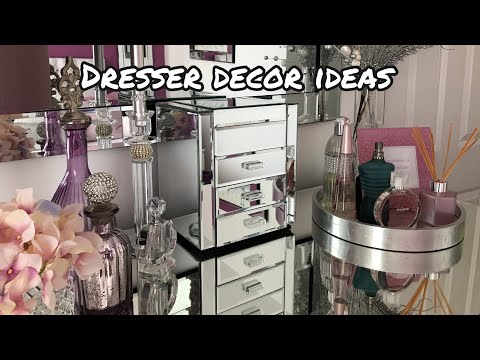 Dresser Decor Ideas Bedroom Decor Ideas Summer Decorate With Me 2020 Youtube