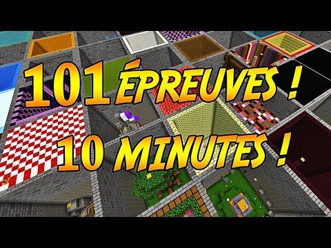 101 ÉPREUVES DE PARKOUR EN 10 MINUTES !   10 Minute Parkour !