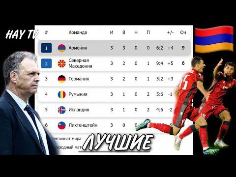 Как Армения обыграла всех. 1-е место в группе!