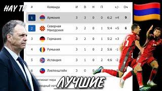 Как Армения обыграла всех 1 е место в группе