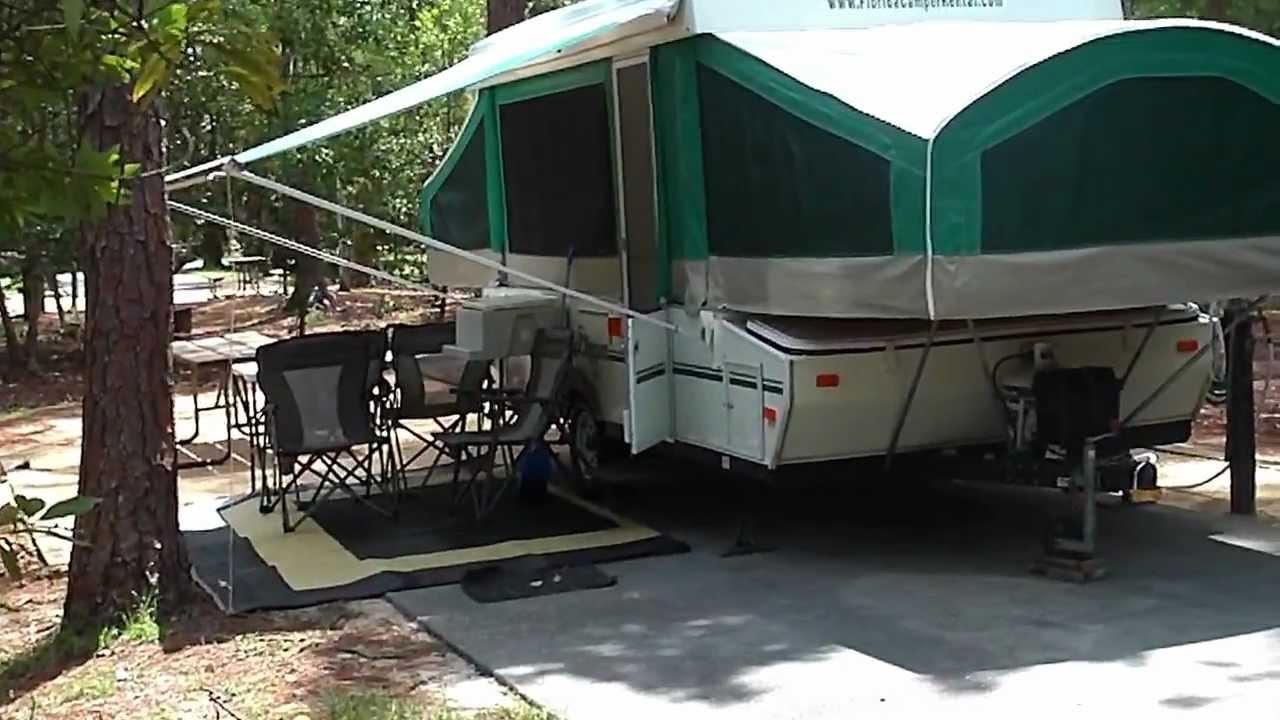 Pop Up Camper Rental Set Up Amp Delivery To Disney Fort
