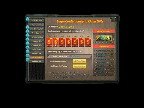 Global Strike ¿ 7 Days Login Reward ?