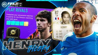 WE REACHED THIS DIVISION??? (The Henry Theory #2) (FIFA Ultimate Team)