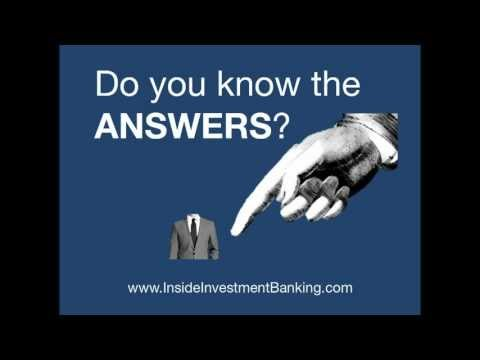 investment banking interview questions top 50 revealed - Investment Banking Interview Questions Answers Guide Tips