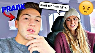 Calling Her My Ex Girlfriends Name  PRANK GONE WRONG......