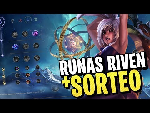 NUEVAS RUNAS DE RIVEN S9 + SORTEO 20€ RPS