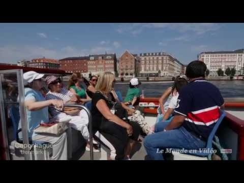 Boat trips and sightseeing tours , Denmark, Copenhague  (Ultra 4K)