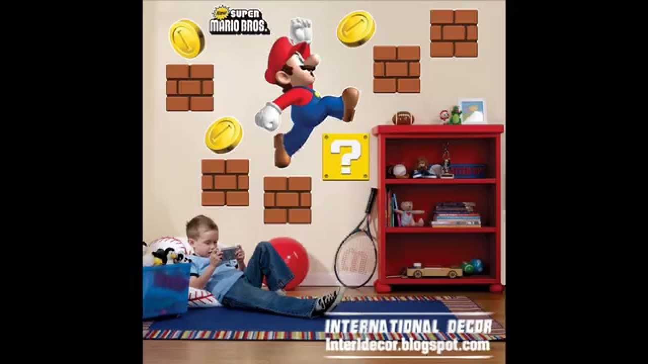 Papel de pared para cuartos de ni os youtube - Pintura infantil pared ...