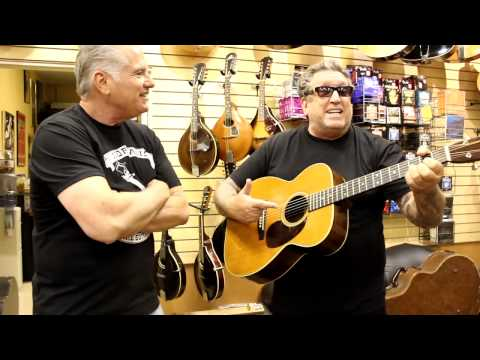 Steve Jones at Norman's Rare Guitars