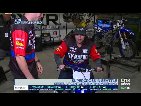 Supercross In Seattle This Weekend! Ellen Tailor Gives Us A Behind The Scenes Look