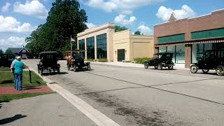 Model T driving school.