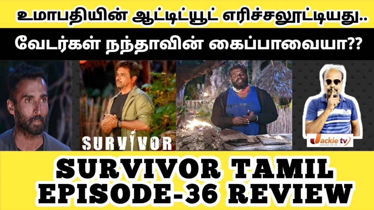 Download Survivor Arjun asked Nandaa playing everyone's game? Besant Ravi eliminated   Epi 36 17th OCT review