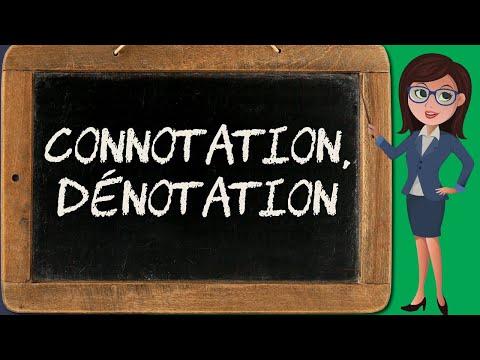 Que sont la connotation et la dénotation ?