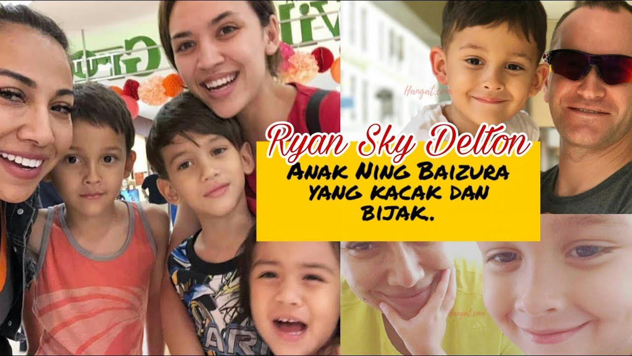 Anak Ning Baizura, Ryan Sky Dalton bijak dan hensem! Belajar fasih Bahasa Melayu?