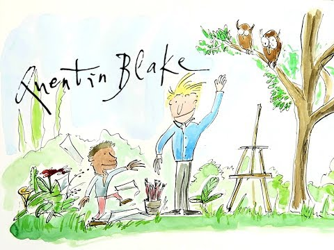How To Paint Like Quentin Blake