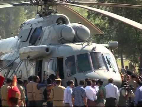 India's Border Security Force inducts two Russian made MI-17 copters
