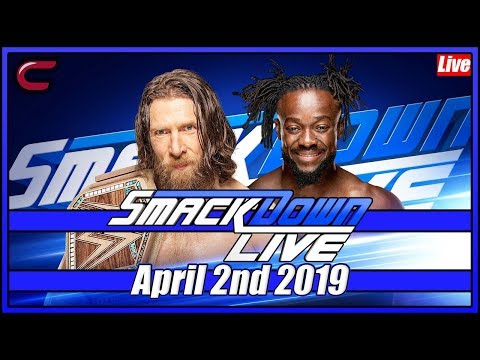 WWE SmackDown Live Stream Full Show April 2nd 2019: Live Reaction Conman167