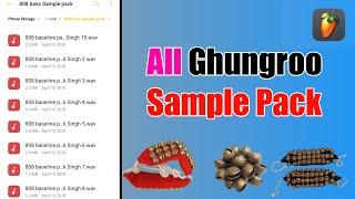 All ghungroo pack 2021 || new ghungroo pack 2020 || free ghungroo sample pack 2020 || fl studio pack
