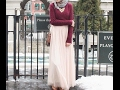Maxi Skirt Lookbook Hijab Fashion Style ! -part2-