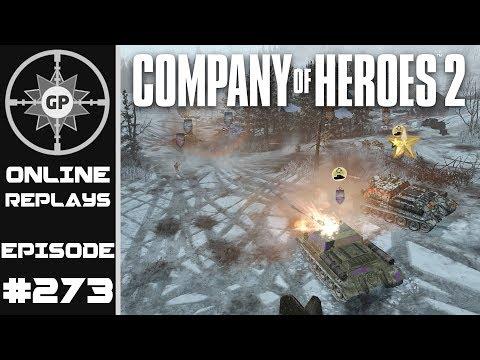 Company of Heroes 2 Online Replays #273 - The Weak Link