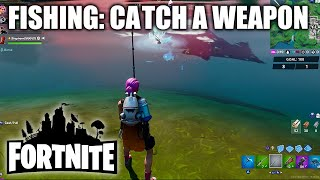 "Fortnite ""Catch a Weapon Using a Fishing Rod"" - Fishing Rod Location & How To Catch"