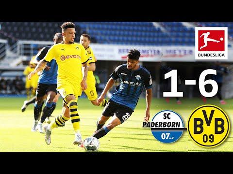 SC Paderborn vs Borussia Dortmund I 1-6 I All Goals I Sancho, Hakimi & Co. with a Fantastic 2nd Half