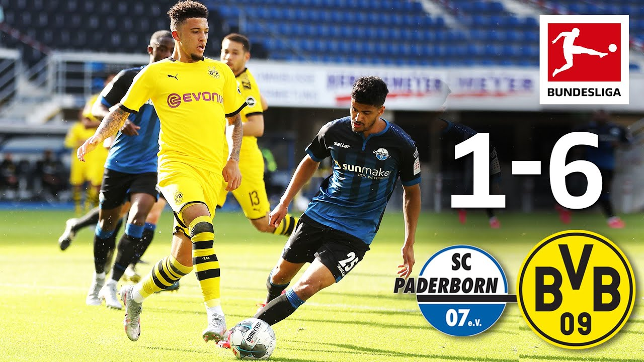 SC Paderborn vs Borussia Dortmund I 1-6 I All Goals I Sancho, Hakimi & Co. with a Fantastic 2nd
