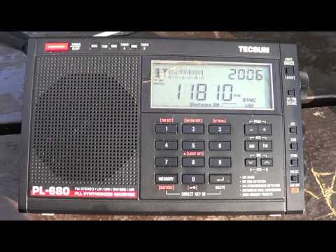 BBC World Service 11810 Khz from Ascension Island