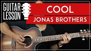 Cool Guitar Tutorial - Jonas Brothers Guitar Lesson 🎸 |Easy Chords + Solo TAB|