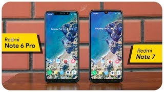 Redmi Note 7 & Redmi Note 6 Pro comparison - We have a clear winner